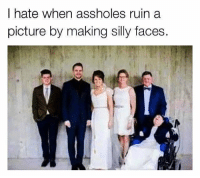 I hate when assholes ruin a  picture by making silly faces. Follow me @xb1, @jellify for more!🤣🤘🏽 lol funny xbox xb1 funnymemes funnyshit Christmas meme memes comedy laugh laughs f4f l4l followforfollow follow4follow followtrain follow followme followback like4like like4follow likeforlike likeforfollow likemyrecent likesforlikes new year newyear 2017