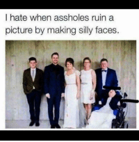 """<p>Every God Damn Time via /r/dank_meme <a href=""""http://ift.tt/2vVo0tV"""">http://ift.tt/2vVo0tV</a></p>: I hate when assholes ruin a  picture by making silly faces <p>Every God Damn Time via /r/dank_meme <a href=""""http://ift.tt/2vVo0tV"""">http://ift.tt/2vVo0tV</a></p>"""