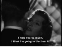 Think, You, and I Hate You: I hate you so much,  I think I'm going to die from it.