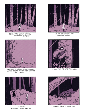 I have an irrational fear of coniferous forests [OC]: I have an irrational fear of coniferous forests [OC]