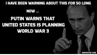 When Propaganda Backfires: 'Europeans Admire Putin, Rather Than Hate Him' - https://www.davidicke.com/article/391069/propaganda-backfires-europeans-admire-putin-rather-hate #Putin #Russia: I HAVE BEEN WARNING ABOUT THIS FOR SO LONG  NOW  PUTIN WARNS THAT  UNITED STATES IS PLANNING  WORLD WAR 3  DAVIDICKE.COM When Propaganda Backfires: 'Europeans Admire Putin, Rather Than Hate Him' - https://www.davidicke.com/article/391069/propaganda-backfires-europeans-admire-putin-rather-hate #Putin #Russia