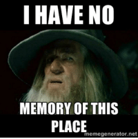 Haven, Net, and Project: I HAVE NO  MEMORY OF THIS  memegenerator.net When I open a project I haven't looked at in three days