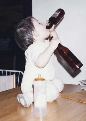 I have to go to a baby shower and the grandma-to-be is making everyone send her a baby picture. Here's mine.: I have to go to a baby shower and the grandma-to-be is making everyone send her a baby picture. Here's mine.