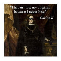 "Lost, Classical Art, and Virginity: ""I haven't lost my virginity  because I never lose""  Carlos II What a G"