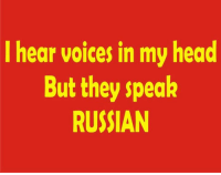 *dave*: I hear voices in my head  But they speak  RUSSIAN *dave*