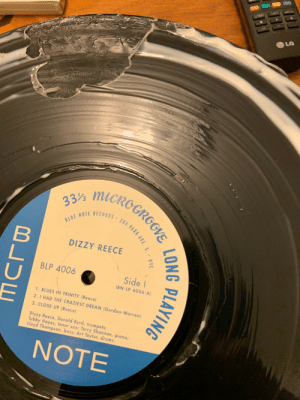 I heard that you can clean your vinyl records with wood glue: I heard that you can clean your vinyl records with wood glue
