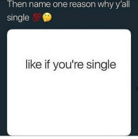 Anaconda, Funny, and Girls: I hen name one reason why y all  single  100  like if you're single I'm singe cause my sketchers scare girls away :(