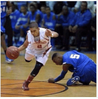 Basketball, Homie, and Memes: I hope he's signing his obituary while he's down there because you can't come back from this. The refs childish if they allowed the game to go on any longer. Homie rude as fuck for doing such a devastating crossover. This sent dark skin niggas back at least 400 years. Someone rush him to a nearby Pokemon center. Ain't no way you can pick up another basketball if you doing the stanky leg after being crossed. I've never seen someone get crossed to the extent that he had switched his extra curricular activities midway. He just said fuck sticking Defense let me color in the outline of the court. Everybody on bench knew he fucked up. blackanklesmatter
