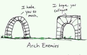 me_irl: I hope yau  I hate  You So  much  Collapse  Arch Enemies me_irl