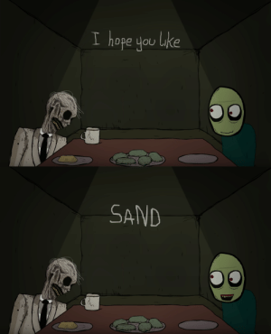 Come Over, Friends, and Tumblr: I hope you luke  0   SAND toxic-toon:  When your friends come over but you can't cook