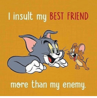 Tag your BestFriend 😝😂: I insult my BEST FRIEND  more than my enemy Tag your BestFriend 😝😂