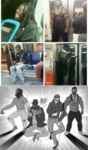 I introduce to you THE GUARDIANS OF THE SUBWAY: I introduce to you THE GUARDIANS OF THE SUBWAY