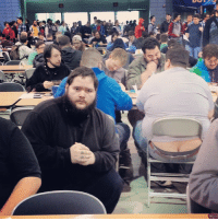 I joined in one of the prime Magic: the Gathering tournaments of all time this weekend. In an effort to article it, I posed for pictures near people with uncovered asscracks. I present to you Grand Prix Richmond Crack style.: I joined in one of the prime Magic: the Gathering tournaments of all time this weekend. In an effort to article it, I posed for pictures near people with uncovered asscracks. I present to you Grand Prix Richmond Crack style.
