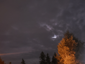 A Picture, Sky, and Last Night: i Just a picture I took off the sky last night