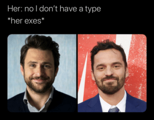 I just binge watched Always Sunny for the first time ever in like two weeks. I've watched New Girl so many times and I couldn't help but make this.: I just binge watched Always Sunny for the first time ever in like two weeks. I've watched New Girl so many times and I couldn't help but make this.