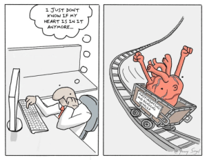 Heart, Don, and Just: I JUST DON'T  KNOW IF MY  HEART LS IN LT  ANYMORE...  9  9 i just don't know if my heart is in it anymore [OC]