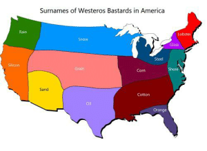 I just finished the series and I was looking up the other bastard surnames and came across this.: I just finished the series and I was looking up the other bastard surnames and came across this.