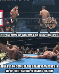 Beautiful, Fucking, and God: I just got done watching Omega vs. Okada from NJPW Dominion 2017, good God almighty that was one of the best matches I've ever seen. So many stiff shots and bumps, the Deathvalley Driver on the apron was PISSING INSANE. And I love the whole story with the One-Winged Angel, how Kenny couldn't hit in their last match, but he finally did and Okada got his foot on the rope. FUCKING BEAUTIFUL. 60 minutes of pure fucking amazing wrestling. If you haven't watched it, I highly recommend you look it up. Trust me, it's worth your time 😍🤘🔥 kennyomega kazuchikaokada kevinowens chrisjericho romanreigns braunstrowman sethrollins ajstyles deanambrose randyorton braywyatt jindermahal thehardyboyz charlotte samoajoe shinsukenakamura samizayn johncena sashabanks brocklesnar alexabliss themiz finnbalor kurtangle wwememes wwememe wwefunny wrestlingmemes wweraw wwesmackdown