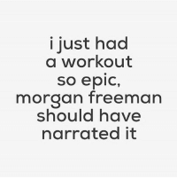 Yep. 😂💪🏼 . @doyoueven 👈🏼 THIS. IS. IT. Your FREE SHIPPING ends TONIGHT! ALL ORDERS 🌏 link in BIO ✔️: I just had  a workout  So epic,  morgan freeman  should have  narrated it Yep. 😂💪🏼 . @doyoueven 👈🏼 THIS. IS. IT. Your FREE SHIPPING ends TONIGHT! ALL ORDERS 🌏 link in BIO ✔️