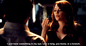 https://iglovequotes.net/: I just have something in my eye. Like a twig, you know,  or a branch. https://iglovequotes.net/