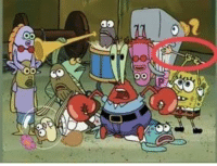 I just realized that in the Band Geeks episode, when everyone stars fighting, Spongebob is fighting his own arm: I just realized that in the Band Geeks episode, when everyone stars fighting, Spongebob is fighting his own arm