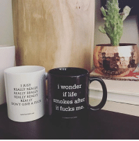 I think I need them both! Which is your fave? @shopgagehuntley has the best mugs and jewelry! Go load up your cart at GageHuntley.com and use my code GOODGIRL20 to save 20% on your entire purchase! ireallydontgiveafuck iwonderiflifesmokesafteritfucksme Go follow @shopgagehuntley @shopgagehuntley @shopgagehuntley: I JUST  REALLY REALLY  REALLY REALLY  REALLY REALLY  REALLY  lwonder  if life  smokes after  lt fucks me.  DON'T GIVE A FU  IVE A FUCK  GAGIHUNTLEYCOM  AHUNTLEY.COM I think I need them both! Which is your fave? @shopgagehuntley has the best mugs and jewelry! Go load up your cart at GageHuntley.com and use my code GOODGIRL20 to save 20% on your entire purchase! ireallydontgiveafuck iwonderiflifesmokesafteritfucksme Go follow @shopgagehuntley @shopgagehuntley @shopgagehuntley