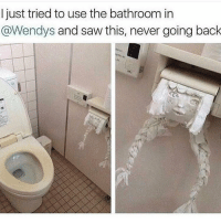 😂😂😂 lmao - - - - - - 420 memesdaily Relatable dank MarchMadness HoodJokes Hilarious Comedy HoodHumor ZeroChill Jokes Funny KanyeWest KimKardashian litasf KylieJenner JustinBieber Squad Crazy Omg Accurate Kardashians Epic bieber Weed TagSomeone hiphop trump rap drake: I just tried to use the bathroom in  @Wendys and saw this, never going back 😂😂😂 lmao - - - - - - 420 memesdaily Relatable dank MarchMadness HoodJokes Hilarious Comedy HoodHumor ZeroChill Jokes Funny KanyeWest KimKardashian litasf KylieJenner JustinBieber Squad Crazy Omg Accurate Kardashians Epic bieber Weed TagSomeone hiphop trump rap drake