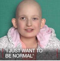 23 JUN: Amelia Brome, aged 10, was diagnosed in January 2017 with a rare soft tissue tumour growing near her brain. She received chemotherapy at a UK hospital before public funding allowed her to travel to the US for pioneering proton beam therapy. For more: bbc.in-proton Proton Cancer MacmillanCancerSupport Rhabdomyosarcoma ProtonTherapy ProtonBeamTherapy Health Family BBCFiveLive @BBC5Live BBCShorts BBCNews @BBCNews: I JUST WANT TO  BE NORMAL' 23 JUN: Amelia Brome, aged 10, was diagnosed in January 2017 with a rare soft tissue tumour growing near her brain. She received chemotherapy at a UK hospital before public funding allowed her to travel to the US for pioneering proton beam therapy. For more: bbc.in-proton Proton Cancer MacmillanCancerSupport Rhabdomyosarcoma ProtonTherapy ProtonBeamTherapy Health Family BBCFiveLive @BBC5Live BBCShorts BBCNews @BBCNews