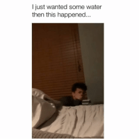 Memes, Water, and 🤖: I just wanted some water  then this happened Turn your sound up! 😂 Credit: @micah.sandoval w- @marvinquinon