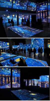i know for a fact that i would start crying if i ever saw the Vincent Van Gogh Starry Night Exhibit in person https://t.co/sIE8IepMap: i know for a fact that i would start crying if i ever saw the Vincent Van Gogh Starry Night Exhibit in person https://t.co/sIE8IepMap