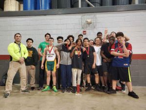I know it's not related to pewdiepie but I would like to share my high school wrestling team for wining Parish this year I love this team!: I know it's not related to pewdiepie but I would like to share my high school wrestling team for wining Parish this year I love this team!