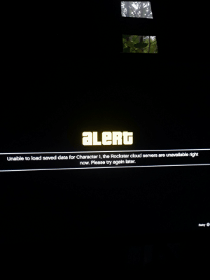 I know the servers are down, but is this normal too? I'm just a bit worried.: I know the servers are down, but is this normal too? I'm just a bit worried.