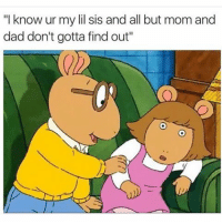 """Arthur a hoe, pervert, child molesting inbred MF. 😂😂: """"I know ur my lil sis and all but mom and  dad don't gotta findout"""" Arthur a hoe, pervert, child molesting inbred MF. 😂😂"""