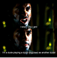 Dude, Memes, and Tropic Thunder: I know who I am!  I'm a dude playing a dude disguised as another dude! Tropic Thunder