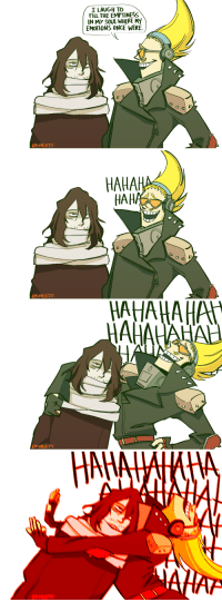 """True, Tumblr, and Blog: I LAUGH TO  FILL THE EMPTINESS  IN MY SOUL WHERE My  EMOTIONS ONCE WERE.  OSHEETS   AHAH  OSHEETS   AHAHAHA  0 <p><a href=""""https://osheets.tumblr.com/post/162421053194/true-erasermic-dynamic-is-both-of-them-accepting"""" class=""""tumblr_blog"""">osheets</a>:</p> <blockquote><p>true erasermic dynamic is both of them accepting theyre dead inside</p></blockquote>"""