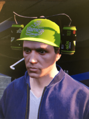 I logged in this morning and was given the Blarney's Beer Hat. Has this happened to anyone else?: I logged in this morning and was given the Blarney's Beer Hat. Has this happened to anyone else?