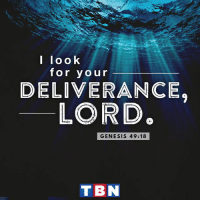 God, Memes, and Genesis: I look  for your  DELIVERANCE.  LORD  GENESIS 49:18  TBN God will never let you down!