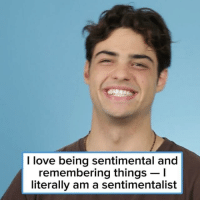 Love, Date, and Heart: I love being sentimental and  remembering things -I  literally am a sentimentalist @ncentineo stopped by and told us about his favorite first date and my poor heart can't take it 😭💕 follow 👉 @buzzfeedceleb for more interviews with your favorite celebrities! 😎✨