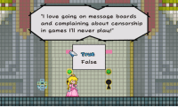 "Memes, Maine, and Censorship: ""I love going on message boards  and complaining about censorship  in games I'll never play!""  True  False. Complaining about Shows You Don't Watch tvtropes.org/Main/ComplainingAboutShowsYouDontWatch"
