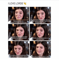 I'm mad she had to take her onion ring page down LET HER LOVE ONION RINGS IN PEACE: I LOVE LORDE  (What doos fominismmean to you?)  Fominism to mo urn...  moan it's totally not about mo.  It's about all the womon who may not  havo the opprotunitios that I havo, all tho  privilogos that I havo.  You know, trying to fight for botter  conditions and bottor treatment  of all women.  Whether that bo transwomen or  women of color,  or you know women in professions tha  don't get a lot of you know respect.  That to me is what fominism is about I'm mad she had to take her onion ring page down LET HER LOVE ONION RINGS IN PEACE