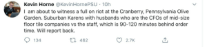 I love my job, but get real Karen, there's a third of our staff doing double the work, bless this man: I love my job, but get real Karen, there's a third of our staff doing double the work, bless this man