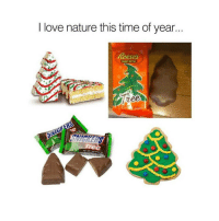 LOL the Reeses is barely a tree: I love nature this time of year  Reeses  NET WIT1 100131 LOL the Reeses is barely a tree