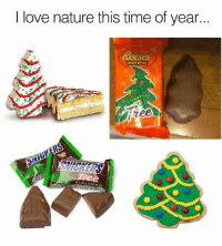 HA!: I love nature this time of year.  Reeses  ree HA!