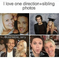 Niall and his twin sister are like goals: I love one direction+sibling  photos  @otensible larry Niall and his twin sister are like goals