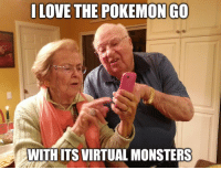 Heard both of these dumb phrases said separately and I combined them for effect: I LOVE THE POKEMON GO  WITHITSVIRTUAL MONSTERS Heard both of these dumb phrases said separately and I combined them for effect