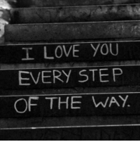Love, I Love You, and Step: I LOVE YOU  EVERY STEP  OF THE WAY