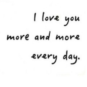 https://iglovequotes.net/: I love  you  more and more  every day. https://iglovequotes.net/