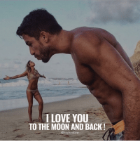 Memes, 🤖, and The Moon: I LOVE YOU  TO THE MOON AND BACK  @high inlove Tag Your Love ❤️