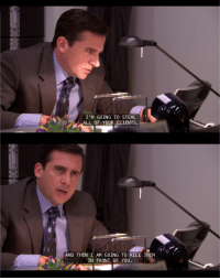 Heavy Competition [The Office]: I 'M GOING TO STEAL  ALL OF YOUR CLIENTS  AND THEN I AM GOING TO KILL THEM  IN FRONT OF YOU. Heavy Competition [The Office]