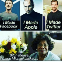 🤦🏾‍♂️🤦🏾‍♂️🤦🏾‍♂️🤦🏾‍♂️: I Made IMadeI Made  Facebook Apple Twitter  glthatlovemik  Bitch Please  Imade  Michael Jackson. 🤦🏾‍♂️🤦🏾‍♂️🤦🏾‍♂️🤦🏾‍♂️